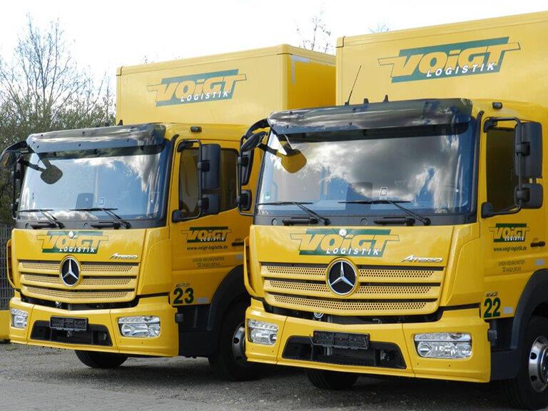vehicle fleet voigt logistik neum nster en. Black Bedroom Furniture Sets. Home Design Ideas